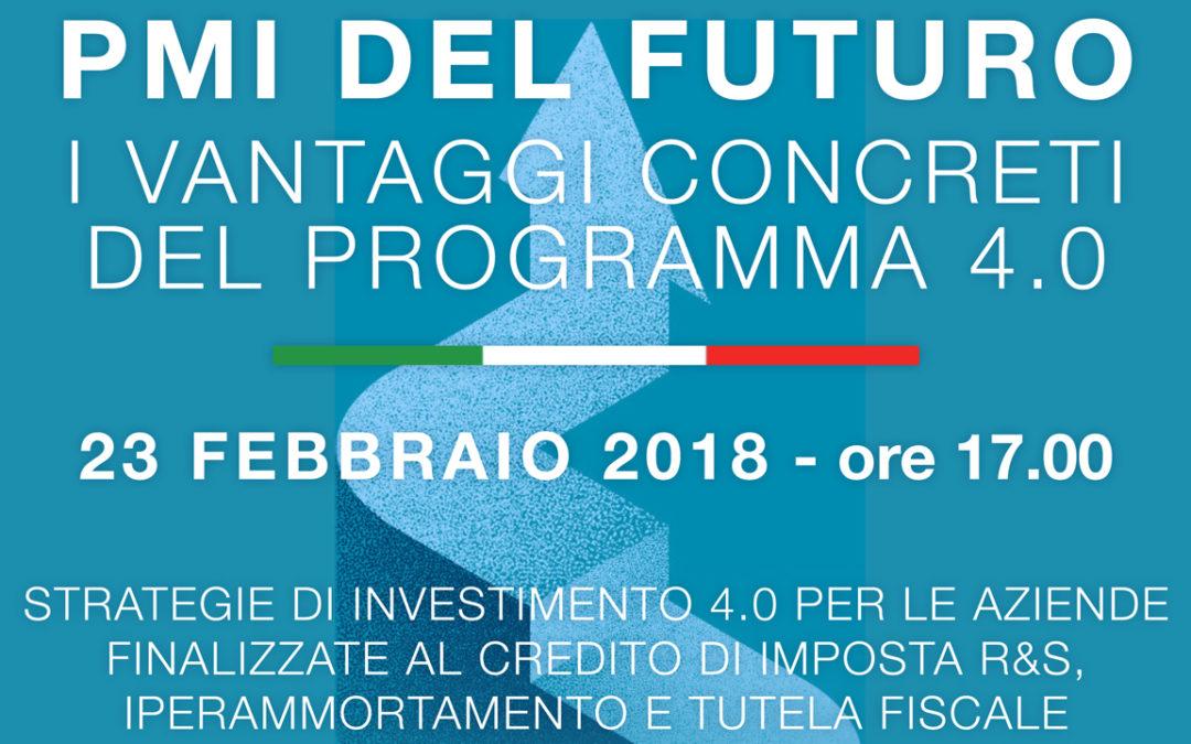 Pmi del futuro – i vantaggi concreti del programma 4.0.